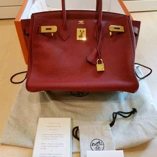 Fire sale! Like new Hermes Birkin 30