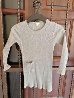 Knit dress for girl
