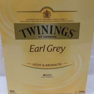 TWININGS Earl Grey Tea 川寧豪門伯爵紅茶