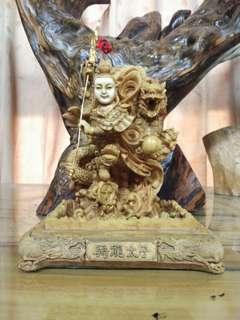 工藝騎龍太子宗教文物擺飾