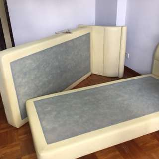 Single bed frame X2