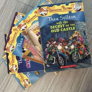 Geronimo Stilton(Thea Stilton) Books