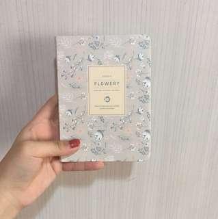 (INSTOCK) 2018 floral planner