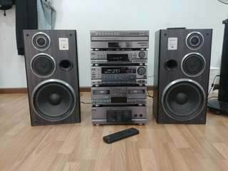 Sony Stereo Set SS D770av
