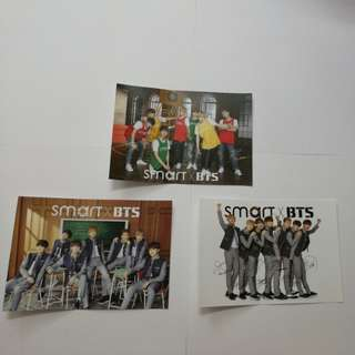 BTS Smart Postcard