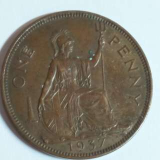 1937 old coins