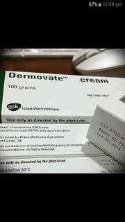 Dermovate cream 15g 100g