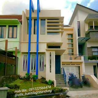 Villa Murah Di Dago Pakar,3 Kt,3km,free Extrabed 5,free Wifi,water Heater,tv Cable,dll