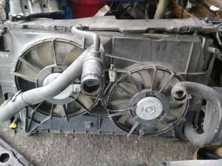 Toyota estima x 2007 radiator and fan motor