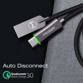 Auto Disconnect Data Cable