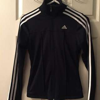 Adidas classic track suit top XS navy