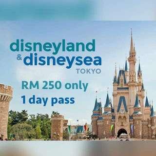 Tokyo Disneyland & sea ticket