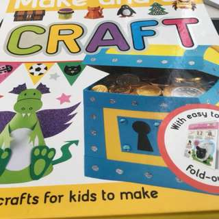 Children craft book $6 including ordinary mailing