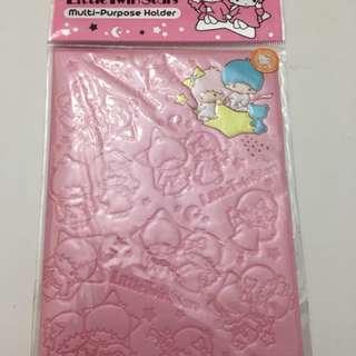 Brand new Sanrio Little Twin Star Passport Holder