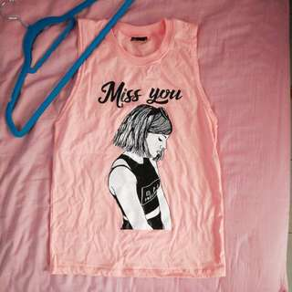 Sleeveless Top [Miss You]