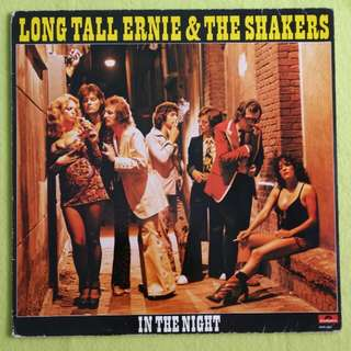 LONG TALL ERNIE &THE SHAKERS. in the night. Vinyl record