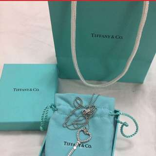 PRICE DROP Tiffany heart key necklace
