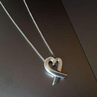 Tiffany 心型頸鏈 necklace