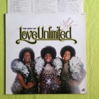 LOVE UNLIMITED. the best of (love's theme)(Rare) vinyl record