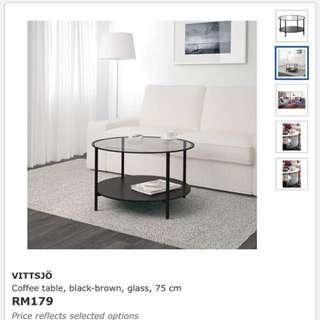 IKEA VITTSJO Coffe Table