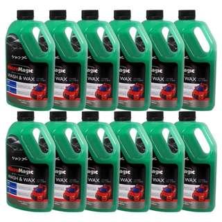 Micromagic Wash & Wax 1L (Set of 12) Green