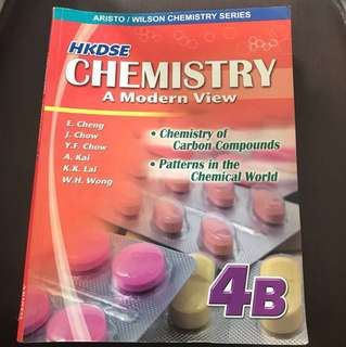HKDSE Chem書