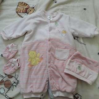 二手女嬰滿月兔裝
