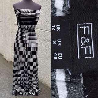 Tube maxi dress(M)