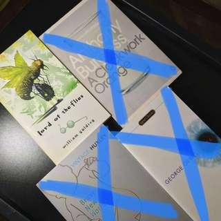 Novels - dystopias