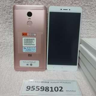 Xiaomi 小米/紅米 Redmi Note 4X, 3+32G, Rose Gold global version. Full Set.