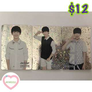 Tfboys yescard 139發 閃卡