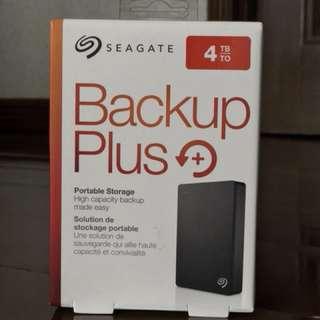 Seagate Backup Plus 4TB external hard drive