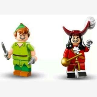 Lego Disney Minifigures Peter Pan & Captain Hook