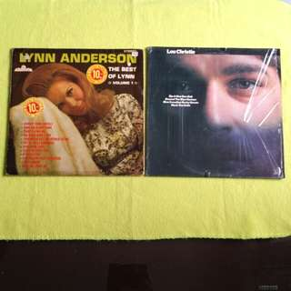 2LP. LYNN ANDERSON /LOU CHRISTIE. the best of vol.1 /lou christie. Vinyl record
