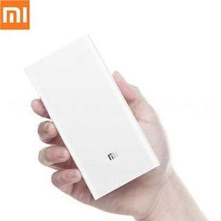 Sales price + free delivery 🔥Original Xiaomi New! 2017 Power Bank 2C 20000mAh 6-Month Warranty