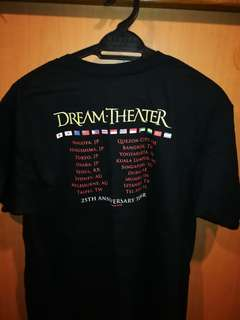 Official Dream Theater 25th Anniversaries T-Shirt
