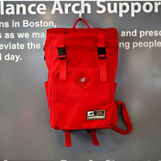 NEW BALANCE CANVAS BACKPACK (RED)