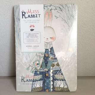Ms.Rabbit note book with 5 different styles in one