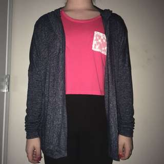 Brand new Blue cardigan from Garage