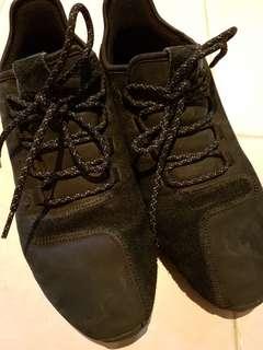 adidas Tubular Shadow all black suede