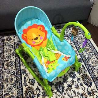 [REDUCED!] Original Fisher Price Newborn to Toddler Rocker