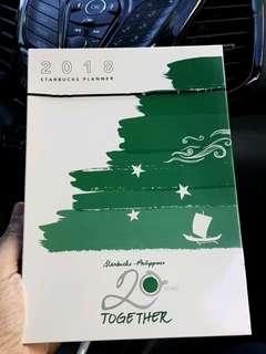 Starbucks 2018 Planner - complete set