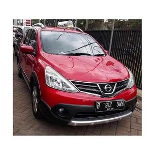 nissan grand livina x-gear 1.5 bensin A/T 2014