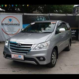 toyota innova g airbag 2.0 bensin A/T2015