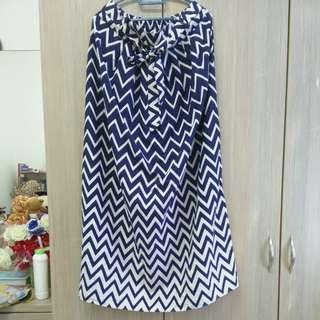Long Zigzag Skirt (PL)