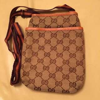 Gucci Classic Unisex Pouch Bag, Passport Holder.