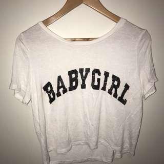 Zaful Baby Girl Crop Top