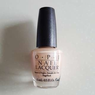 OPI It's Sheer Luck NLV06 Green Label