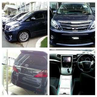 *Promotion Sale* 2013 Toyota Alphard SC 2.4
