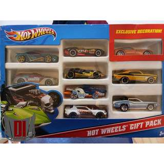 Hot Wheels Gift Pack 9 Pieces